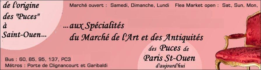 Marches D Antiquites Marches Aux Puces De Saint Ouen Paris Ile