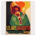poster ancien, posters anciens, poster art deco, affiches cassis,